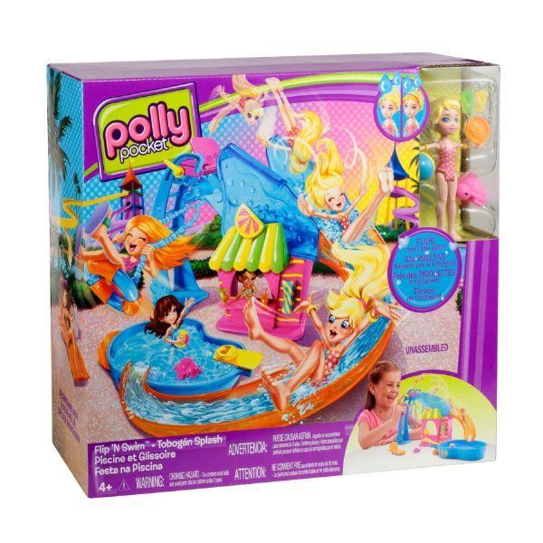 W6221 polly pocket festa na piscina mattel 254 w6221 for Piscine polly pocket